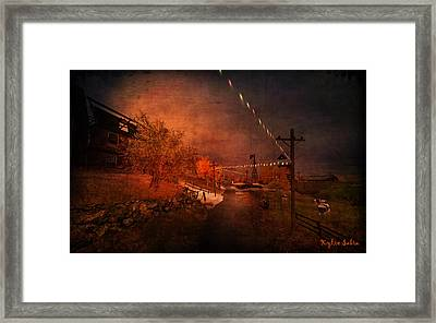 After The Fair Framed Print by Kylie Sabra