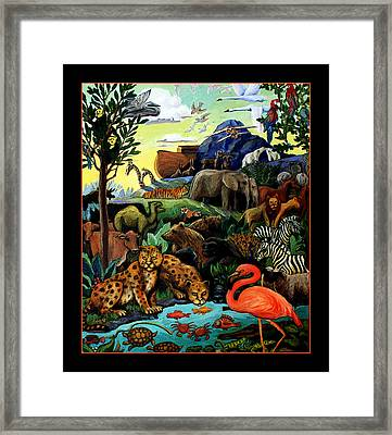 After The Flood Framed Print by Sandra Bryant