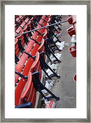 After The Game Framed Print by Greg DeBeck