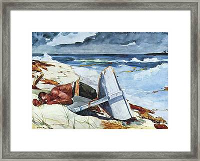 After The Hurricane Framed Print by Pg Reproductions