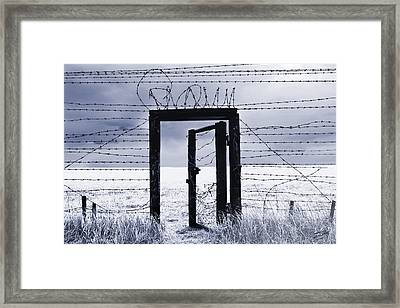 After The Iron Curtain Framed Print