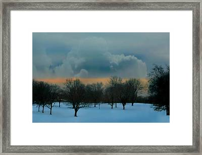 After The Love Is Gone Framed Print by Diana Angstadt