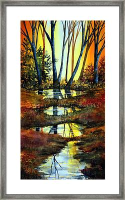 After The Rain Framed Print by Ann Marie Bone