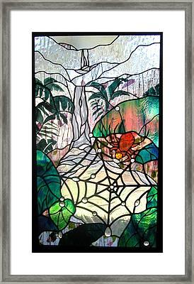 After The Rain Framed Print by Christine Alexander