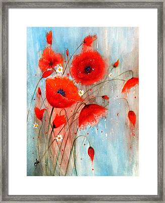 After The Rain.. Framed Print
