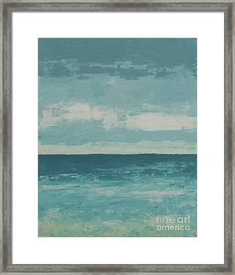 After The Rain Framed Print by Gail Kent