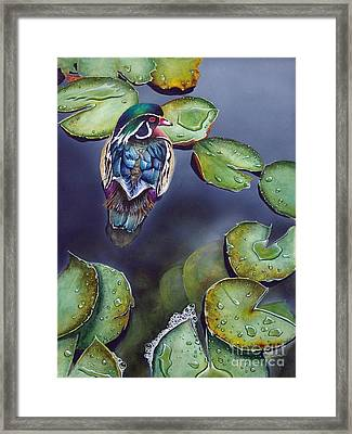 After The Rain Framed Print by Greg and Linda Halom