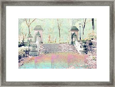 After The Rain In Central Park Framed Print by Gabrielle Schertz