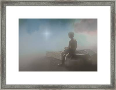 After The Rain Framed Print by Kellice Swaggerty