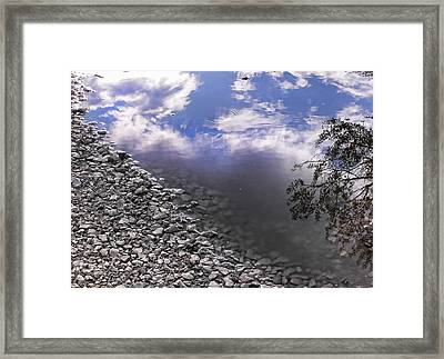After The Rain Framed Print by Kristie  Bonnewell
