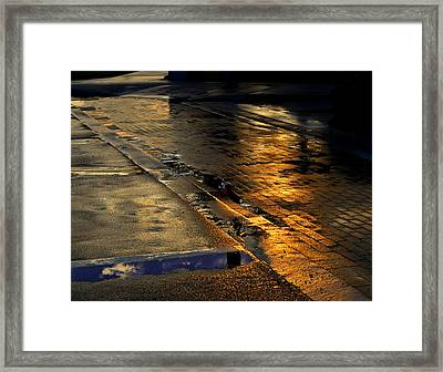 After The Rain Framed Print by Laura Fasulo