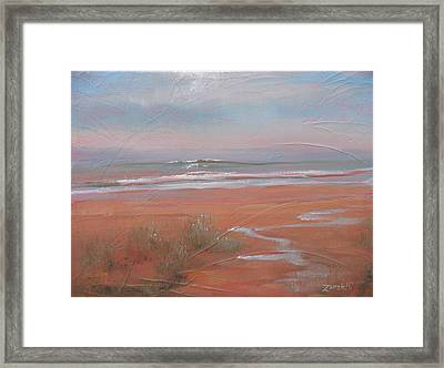 After The Rain Framed Print by Laura Lee Zanghetti