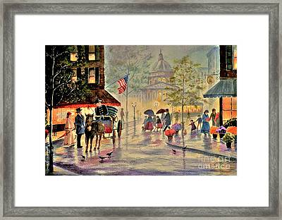 After The Rain Framed Print by Marilyn Smith