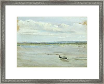 After The Rain Framed Print by Max Liebermann