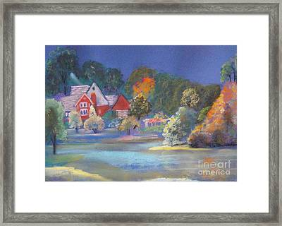 After The Rain  Framed Print by Sandra McClure
