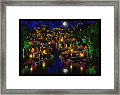 After The Rain - Scratch Art Series - #25 Framed Print by Steven Lebron Langston