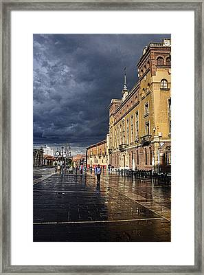 After The Rain Framed Print by Tom Bell