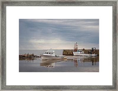 Framed Print featuring the photograph After The Rain by WB Johnston