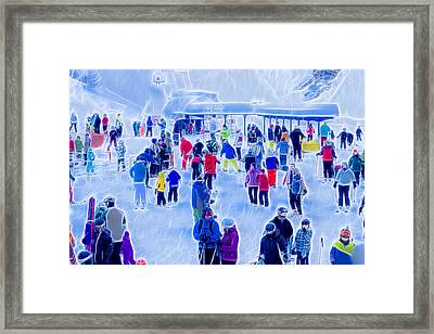 After The Run Framed Print