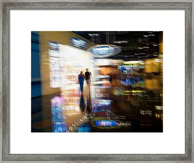 Framed Print featuring the photograph After The Show by Alex Lapidus