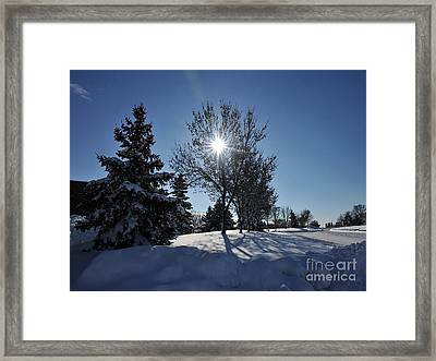 After The Snow 3 Framed Print by Graham Taylor