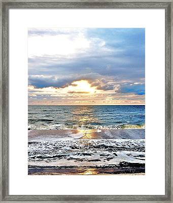 After The Storm 3 Framed Print