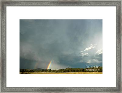 After The  Storm Framed Print by Alan Russo