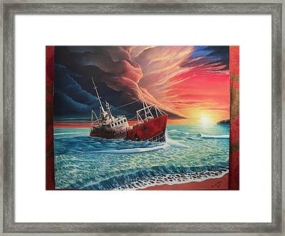 After The Storm Framed Print by Alejandro Del Valle