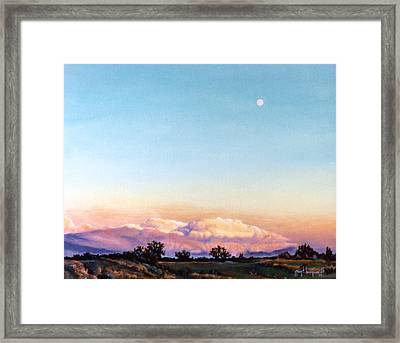 Framed Print featuring the painting After The Storm by Craig T Burgwardt