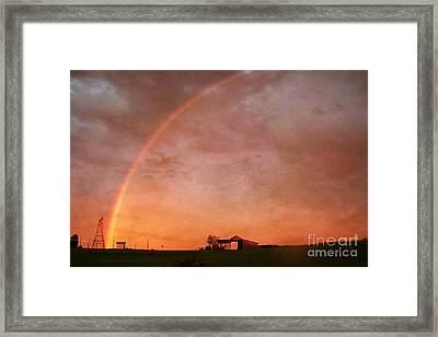 After The Storm Framed Print by Darren Fisher