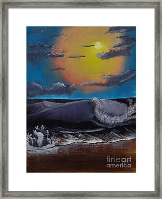 After The Storm Framed Print by Dave Atkins