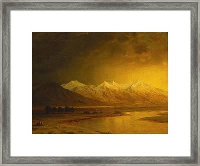 After The Storm Framed Print by Gilbert Davis Munger