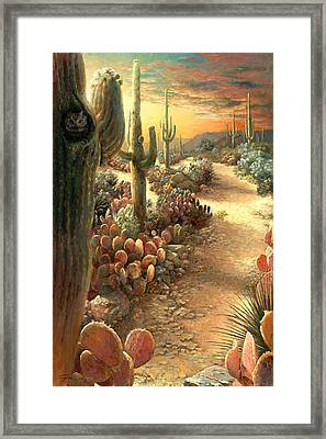 After The Storm Framed Print by Gini Heywood