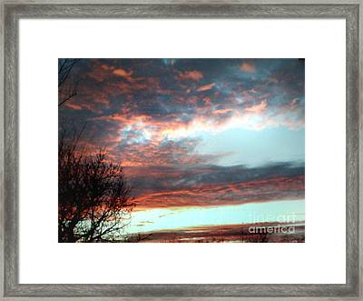 After The Storm Framed Print by Jeffery Fagan