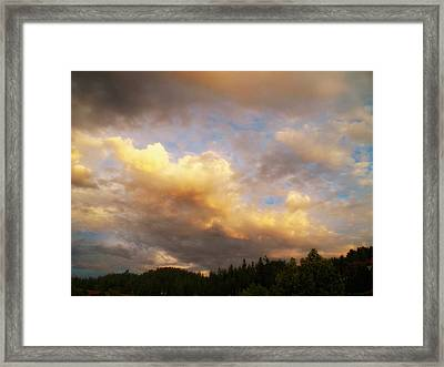 After The Storm -  Lake Arrowhead Framed Print by Glenn McCarthy Art and Photography