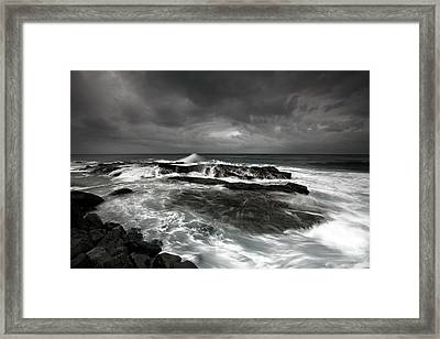 After The Storm Framed Print by Mel Brackstone