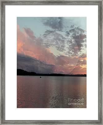 After The Storm Framed Print by Nancy TeWinkel Lauren