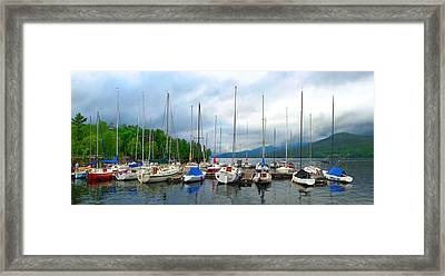 After The Storm Framed Print by Nicola Nobile