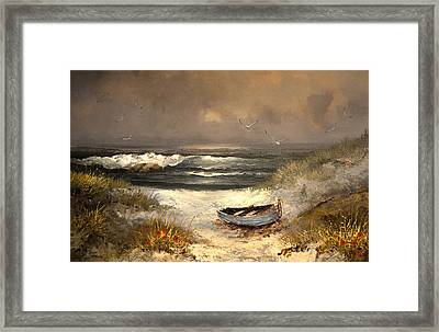After The Storm Passed Framed Print by Sandi OReilly