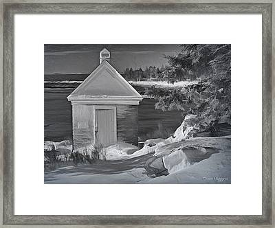 After The Storm  Pemaquid Lighthouse  Maine Framed Print