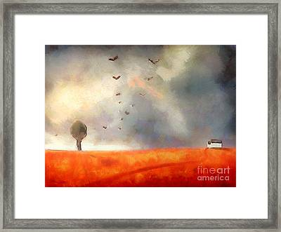 After The Storm Framed Print by Pixel Chimp
