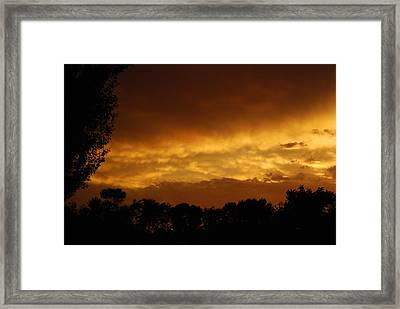 Framed Print featuring the photograph After The Storm by Ramona Whiteaker