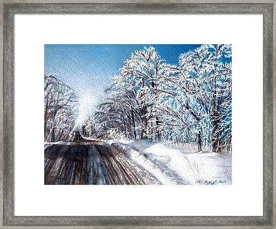 After The Storm Framed Print by Shana Rowe Jackson