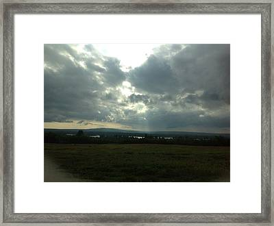 After The Storm Framed Print by Susan Pina