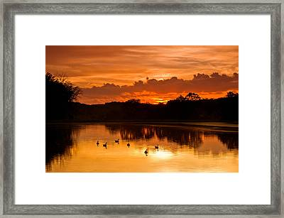 After The Storm..... Framed Print