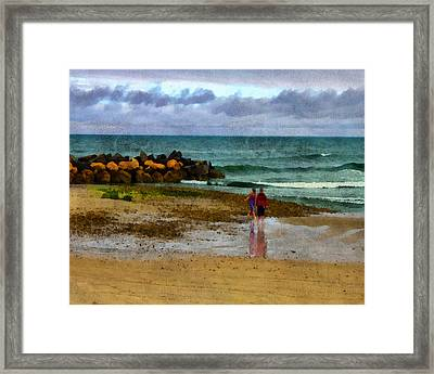 After The Storm Framed Print by William Sargent