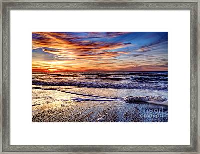 After The Sunset Framed Print by Eyzen M Kim