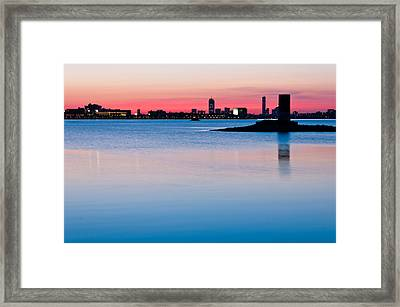After The Sunset Framed Print by Lee Costa