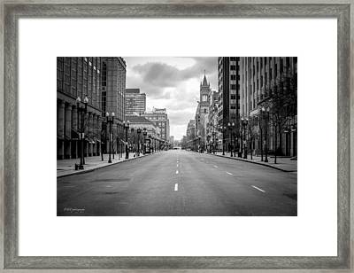 After The Tragedy Framed Print