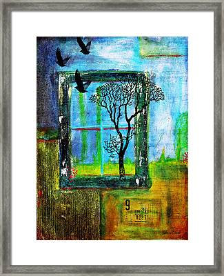 After They Left Framed Print by Bellesouth Studio